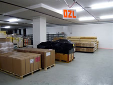 Inside of the Bonded Warehouse in Zurich